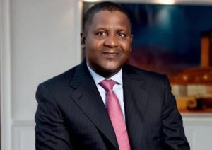 Dangote emerges 64th richest man in the world