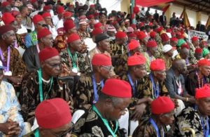 Ohanaeze vows to invoke gods against 'enemies' of Ndigbo
