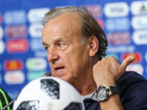 AFCON: I want to put everyone under pressure, says Rohr