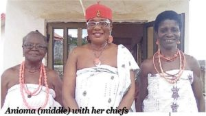 As queen, I can only marry a woman –Dunkwu, Omu of Anioma