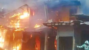 Five children die in Lagos fire incident