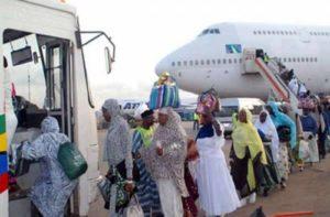 Hajj: 2,737 Nigerian pilgrims return home