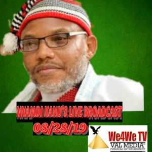"Live Radio Broadcast: Nnamdi Kanu & IPOB say they must discredit & disgrace Jubril Al Sudani as an impostor of the""Dead"" Buhari"