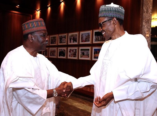 You're a living legend, Buhari tells Gowon at 85