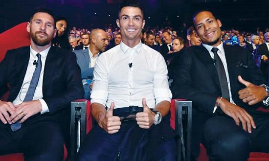 Ballon d'Or: Messi, CR7, Van Dijk renew rivalry