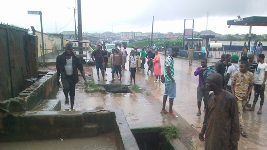 Flood sweeps 11-year-old boy, rescuer to death in Lagos
